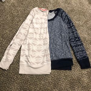 Size M Lot of Two Maurices Sweaters